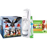 SodaStream Jet White +12VPP new LE Dragon