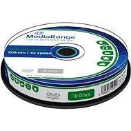 MediaRange DVD-RW 10ks cakebox