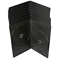 Krabička slimULTRA na 2ks - černá, 7mm, 10pack