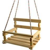 Dřevěná houpačka - přírodní