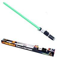 Star Wars - Světelný a zvukový meč zelený