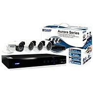 KGUARD 4-kanálový rekordér DVR + 4x barevná venkovní kamera