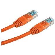 Datacom, CAT5E, UTP, 3m, oranžový