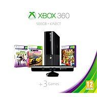 Microsoft Xbox 360 500GB Kinect Bundle + Forza Horizon + Kinect sports 1 + Kinect Adventure