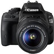 Canon EOS 100D body + objektiv EF-S 18-55mm DC III