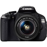 Canon EOS 600D + objektiv EF-S 18-55mm DC III