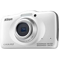 Nikon COOLPIX S32 white backpack kit