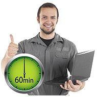 Servis on-line: práce technika 60minut