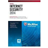 McAfee Internet Security 2014 3PC CZ