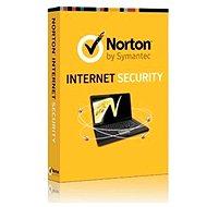 Symantec Norton Internet Security 2014 pro 1 uživatele na 12 měsíců