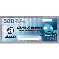 Elektronický dárkový poukaz Alza.cz na nákup zboží v hodnotě 500 Kč